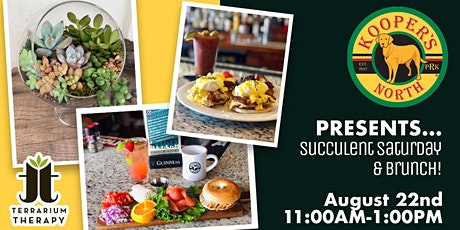 Succulent Saturday and Brunch tickets
