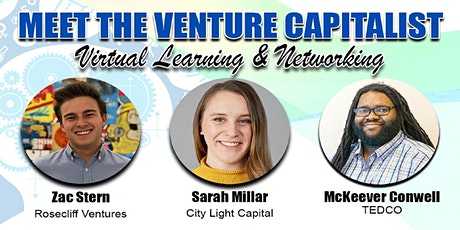 Meet Venture Capitalist & Angel Investor - Virtual Ted Talk & Networking. tickets