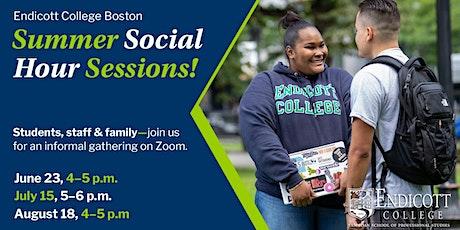 Endicott College Boston—Summer Social Sessions tickets
