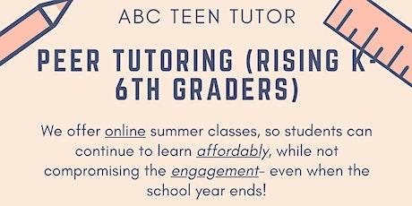 Math summer camp for kids 5-6 tickets