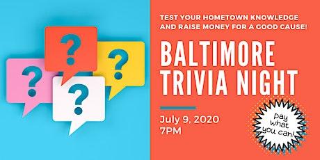 Baltimore Trivia Night! tickets
