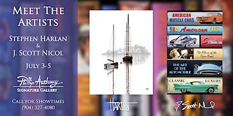 Meet the Artists Show: Stephen Harlan & J. Scott Nicol tickets