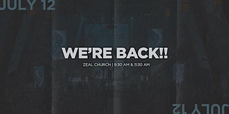Zeal Doors Now Open! tickets
