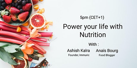 Power your life with nutrition tickets