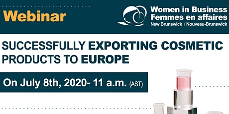 SUCCESSFULLY EXPORTING COSMETIC PRODUCTS TO EUROPE tickets