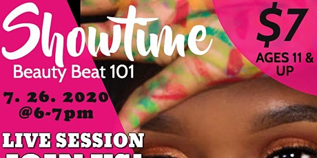 SHOWTIME BEAUTY BEAT 101 LIVE SESSION tickets