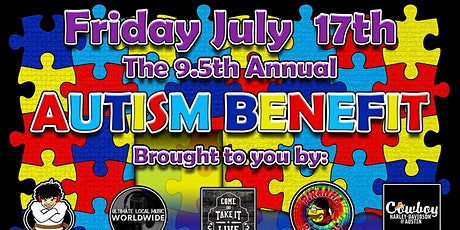 ANNUAL AUTISM SOCIETY BENEFIT 9.5 tickets