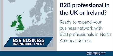 VIRTUAL  Business Roundtable for B2B Professionals  |  Connect Globally tickets