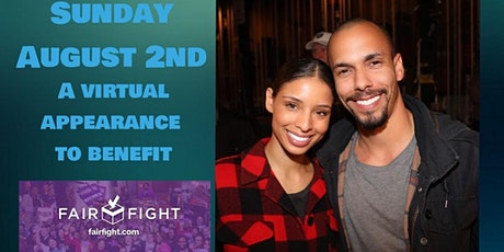 Brytni Sarpy and Bryton James Zoom Event to benefit FairFight.com tickets