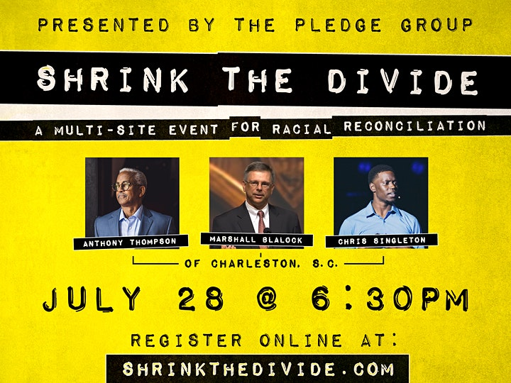 Shrink the Divide 2020 | A multisite event for racial reconciliation image