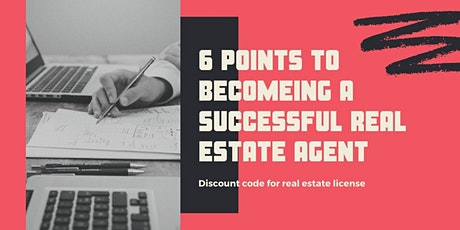 6 Tips to Launch a Real Estate Business & License Discount Code! tickets