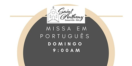 Missa de Domingo 9:00AM ingressos