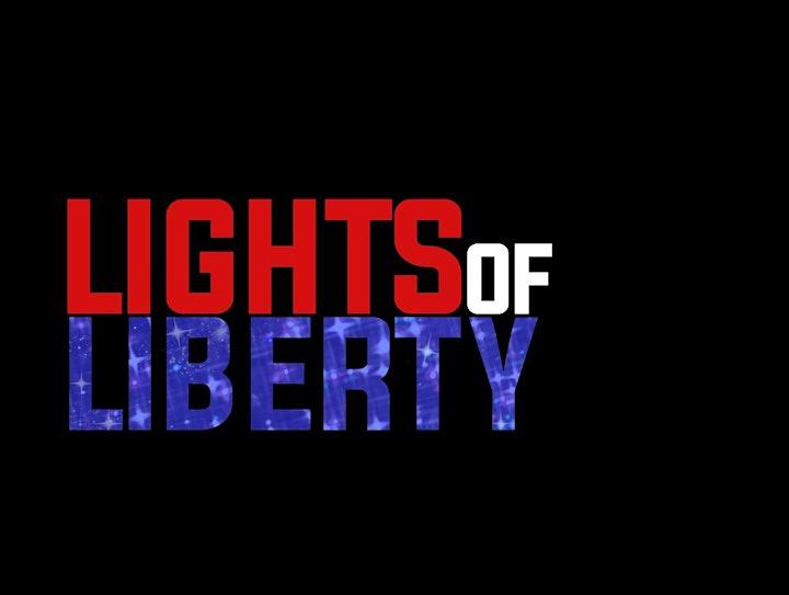 Lights of Liberty Drive-Through Digital Light Show ($10 per vehicle) image