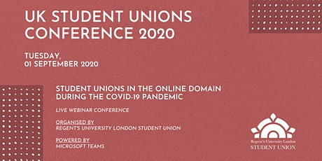UK Student Unions Conference 2020 tickets