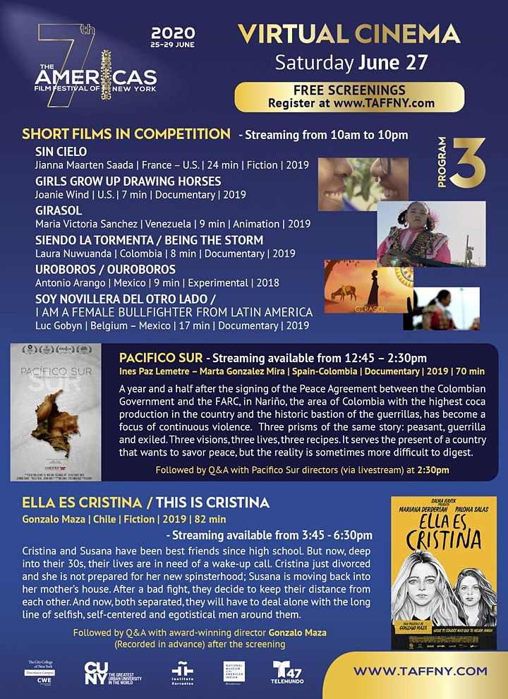 TAFFNY2020 Virtual Cinema - Festival Pass image