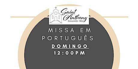 Missa de Domingo 12:00PM tickets