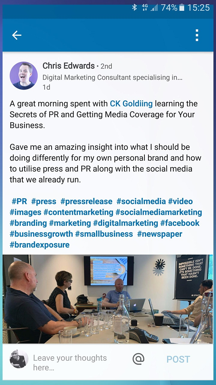 How PR gets small businesses noticed image