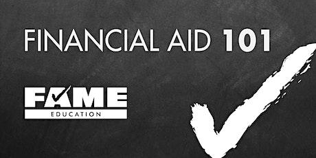 Financial Aid 101 tickets