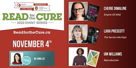 Read for the Cure 04/11  [Cherie Dimaline - Lara Prescott - Ian Williams] tickets