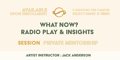 "[Private Mentorship Adults 18+] ""What Now?"" : Radio Play & Insights"