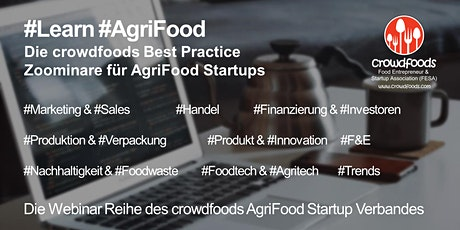 AgriFood Startup #Zoominar: Best Practice Crowdfunding Tickets