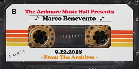 From The Archives - Marco Benevento - 9.22.18 tickets