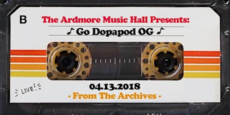 From The Archives - GO Dopapod OG - 04.13.18 tickets
