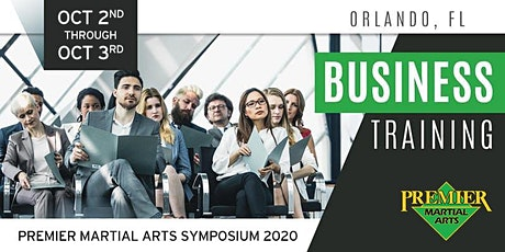 Premier Martial Arts Symposium 2020 - Business tickets