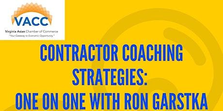 Contractor Coaching Strategies with Ron Gartska tickets