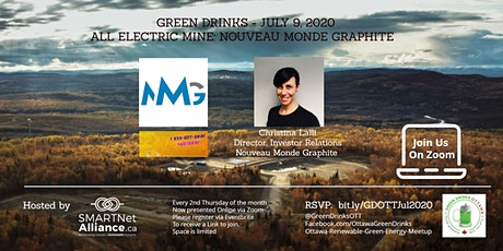 Green Drinks July On Zoom - All Electric Graphite Mine tickets