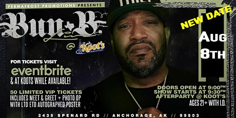 Bun B Of U.G.K Live in Concert tickets