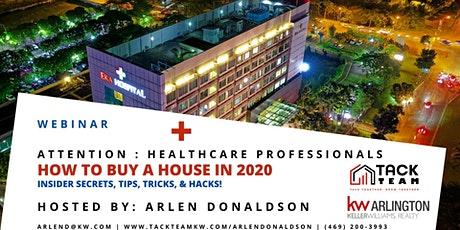 Attention Healthcare Professionals: How to Buy a House in 2020 (Prosper) tickets