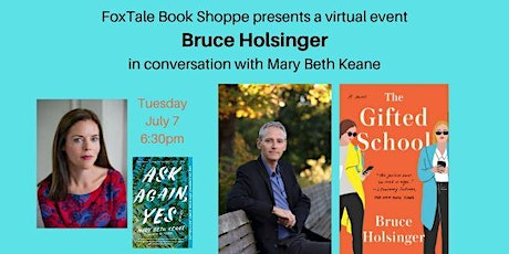 Virtual: Bruce Holsinger with Mary Beth Keane tickets