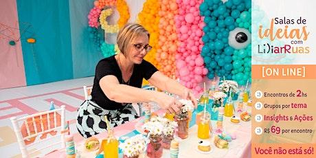 Sala de Ideias com Lilian Ruas:  Vendas ingressos
