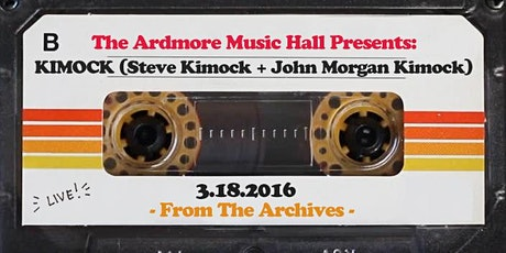From The Archives - KIMOCK (Steve Kimock + John Morgan Kimock) - 03.18.16 tickets