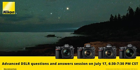 Bedford Nikon Demo Days: Advanced DSLR Q&A tickets