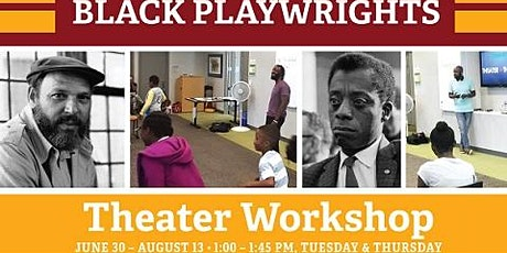 """Baldwin & Wilson"" Black Playwrights - Theatre Workshop tickets"
