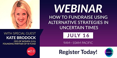 How to Fundraise Using Alternative Strategies in Uncertain Times Tickets