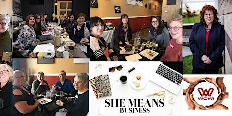 WOW! Women In Business Luncheon - Ponoka, Alberta November 12, 2020 tickets