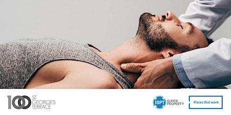 10 minute Head & Shoulder Massages tickets