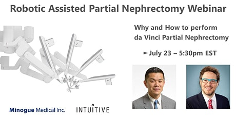 Urology Webinar: Why and How to perform  da Vinci Partial Nephrectomy tickets