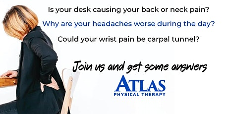 Is Your Desk Job Causing You Pain? - Free Interactive Workshop tickets
