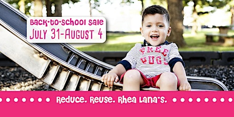 Rhea Lana's of North Coast Back-to-School Consignment Sale tickets