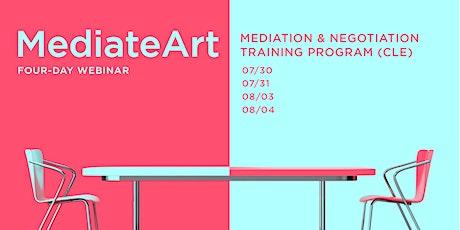 Webinar: MediateArt: Mediation & Negotiation Training Program (CLE) tickets