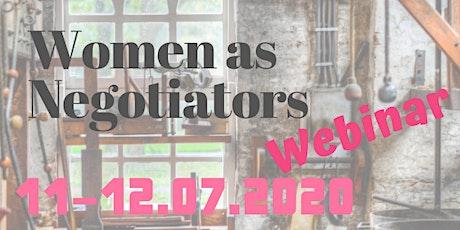 Women as Negotiators - Intro & Toolset Webinars tickets