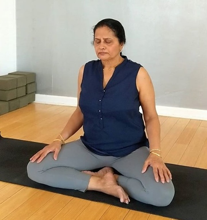 Free Virtual Yoga All Levels with Asha Rao — IE image