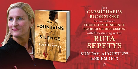 Virtual Bookclub with Ruta Sepetys tickets