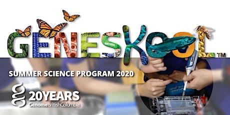 Geneskool Summer Science Program for Teens tickets