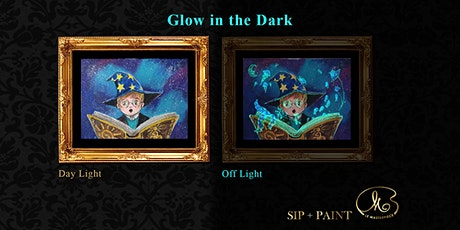Sip and Paint (Glow in the Dark): The Magic Book (Saturday) tickets