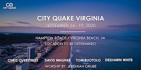 City Quake Virginia w/ Dave Wagner, Chris Overstreet,  and Tom Ruotolo tickets